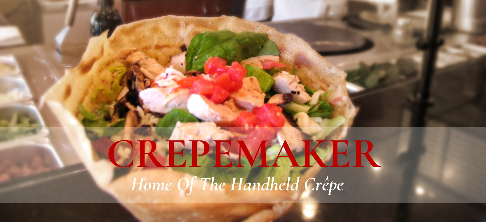 CrepeMaker Home of the Handheld Crepe