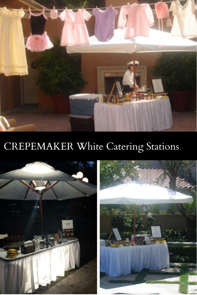CrepeMaker White Catering Stations